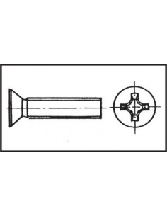 Passe-coque avec collerette flush Ø47,3mm