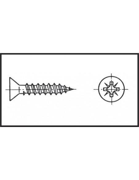Corne de brume L.30cm ø8mm